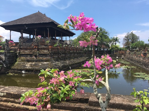 Kertha Gosa Pavillion of the Klungkung Palace in Semarapura