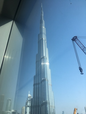Burj Khalifa from the Dubai Mall