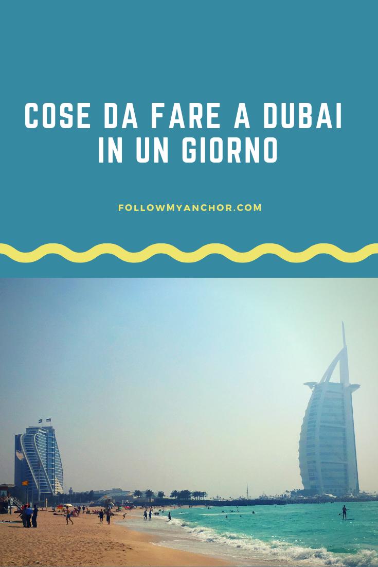 VISITARE DUBAI IN UN GIORNO