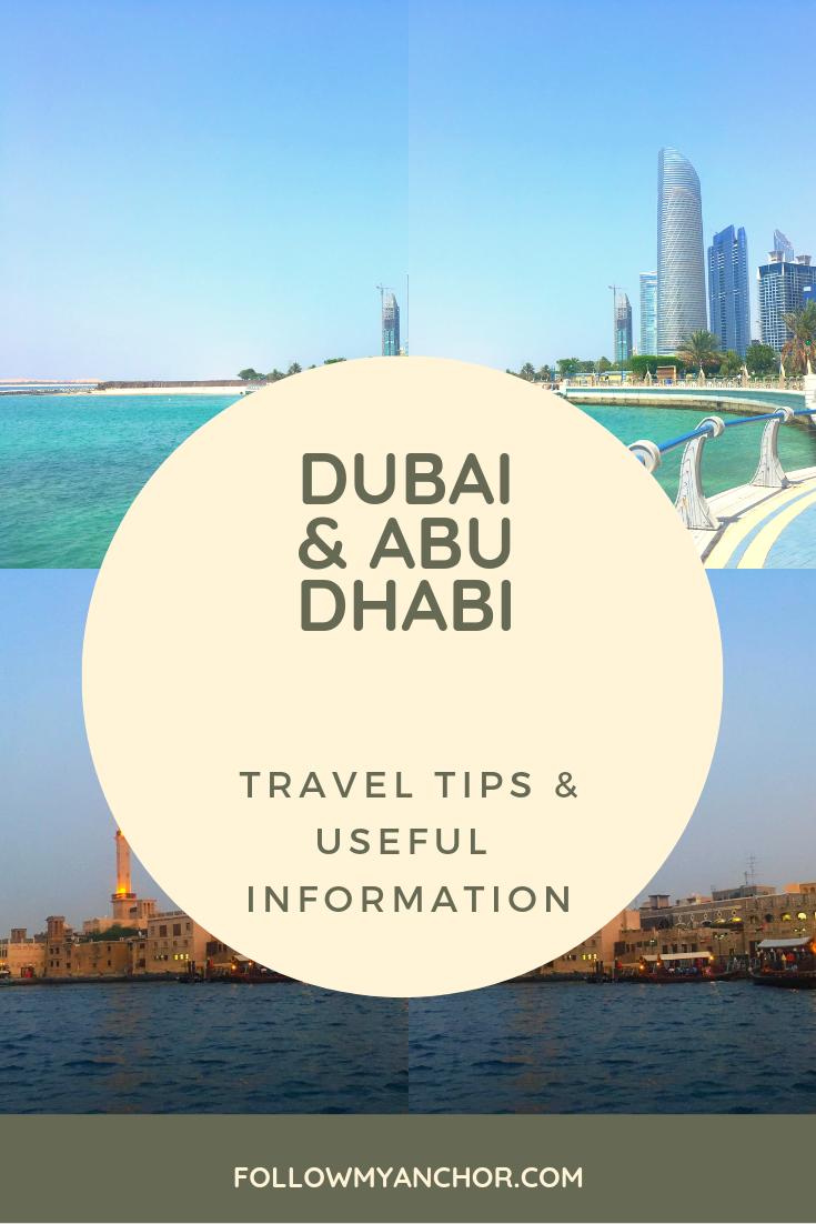 USEFUL INFORMATION AND TRAVEL TIPS FOR DUBAI AND ABU DHABI