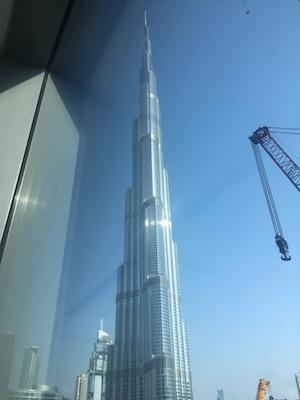Burj Khalifa dal Dubai Mall