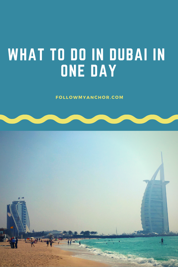 VISIT DUBAI IN ONE DAY