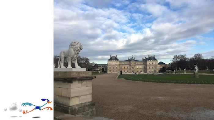 Giardini di Lussemburgo per correre a Parigi