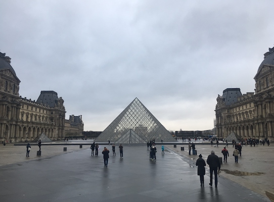 Glass Pyramid of the Louvre Museum
