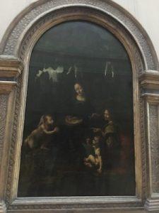 La Vergine delle Rocce del Louvre