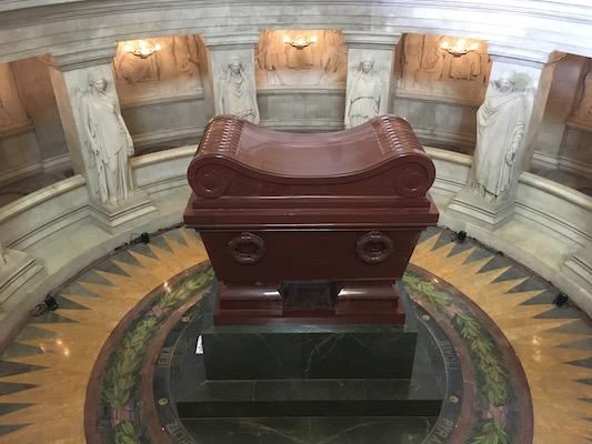 Sarcophagus of Napoleon Bonaparte in the Hotel des Invalides