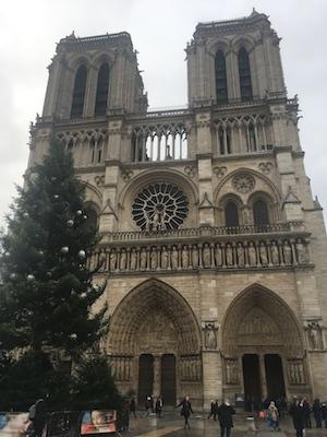 Facciata della Cattedrale di Notre Dame