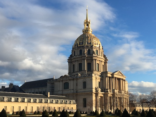 Dome des Invalides in Paris