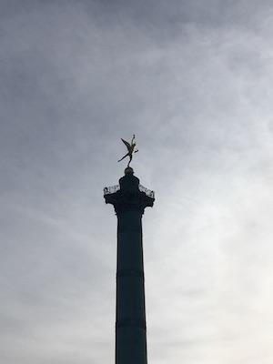 Colonna di Luglio a Place de la Bastille