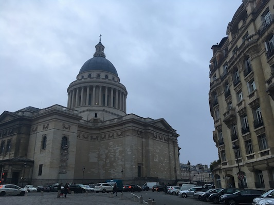 Pantheon nel Quartiere Latino di Parigi