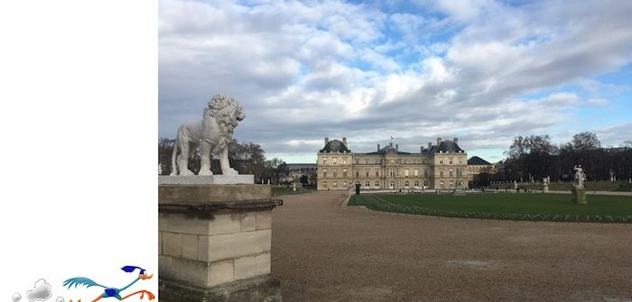 Luxembourg Gardens for a run in Paris