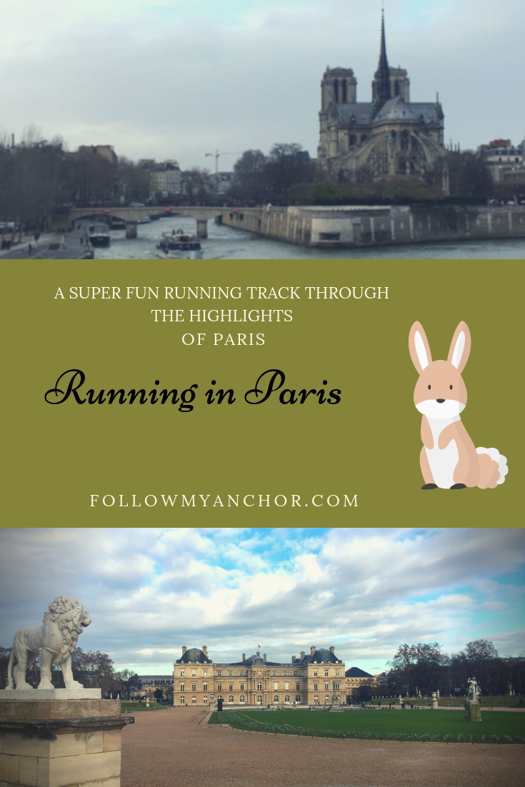 Running in Paris | You are a runner and you are about to travel to Paris but you can't stop wondering where you can run in Paris. Check out this article to follow this super fun running track through the highlights of Paris! #Paris #Run #RunningInParis #RunInParis #Running #TravelBlog