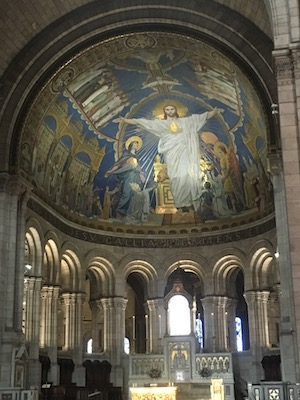Mosaic of the Sacred Heart of Jesus in the Sacre Coeur