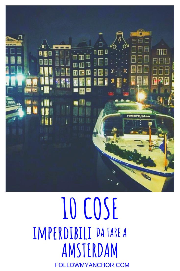 10 COSE DA FARE A AMSTERDAM