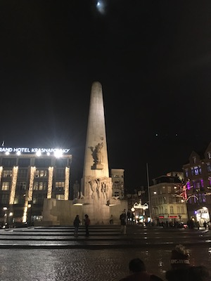 the National Monument in Dam Square