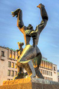 Monumento alla città distrutta di Rotterdam