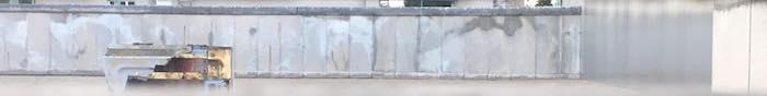 Frammento del Muro di Berlino a Bernauer Strasse