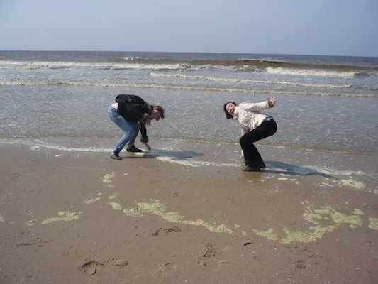 Toccando il Mare del Nord a Zandvoort Aan Zee
