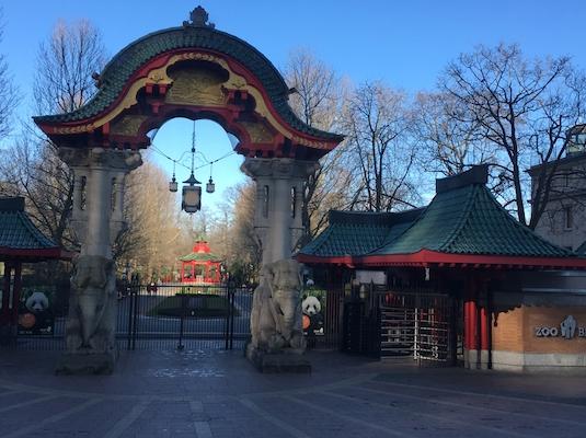 Entrance of Bahnhof Zoo of Berlin