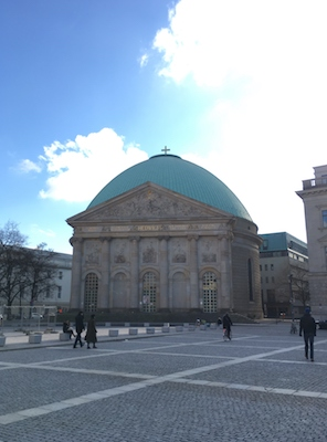 St. Hedwig's Cathedral in Bebel Platz