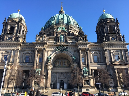 Facade of Berlin Cathedral