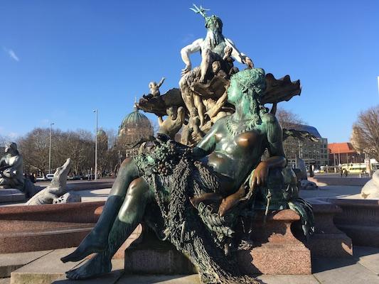 The Neptune Fountain of Berlin