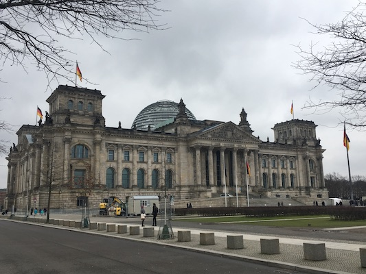 The Reichstag of Berlin
