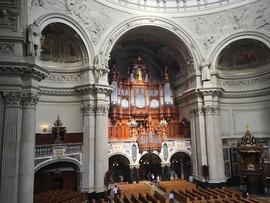 Organo nel Duomo di Berlino