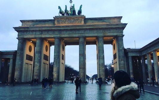 Alla Porta di Brandeburgo nel mio Viaggio a Berlino