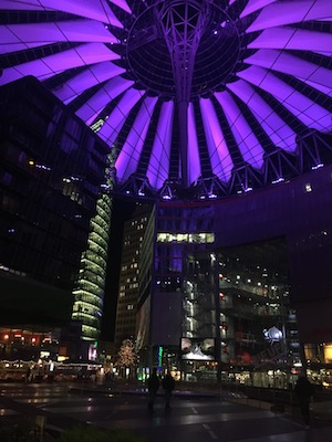 Sony Centre in Postdamer Platz