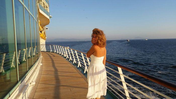 Travel Blog di una ragazza italiana su una nave da crociera
