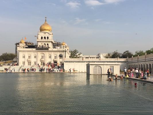 Sarovar del Gurudwara Bangla Sahib di Delhi