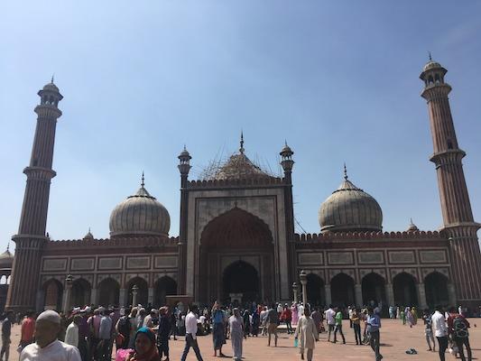 Jama Masjid o la Moschea del Venerdì di Delhi