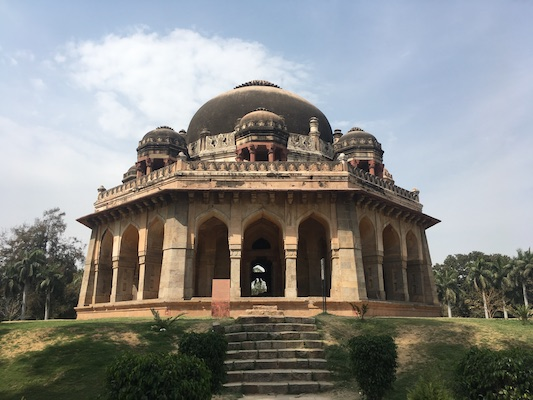 The Tomb of Mohammed Shah in the Lodi Gardens of Delhi