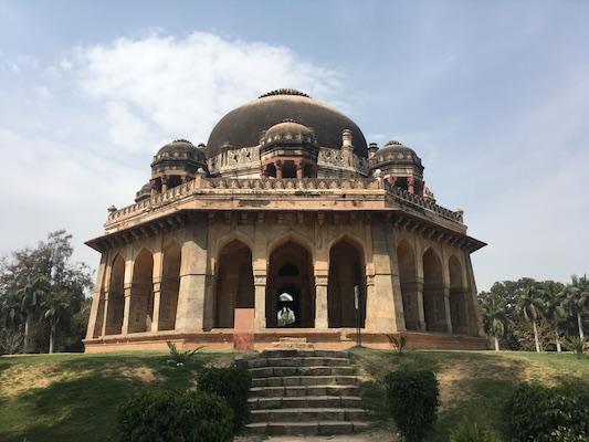Tomba di Mohammed Shah nel Giardino di Lodi di Delhi