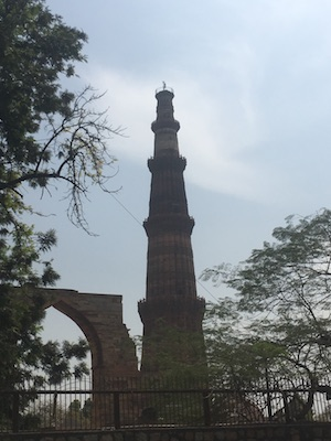 Minareto Qutb Minar di Delhi