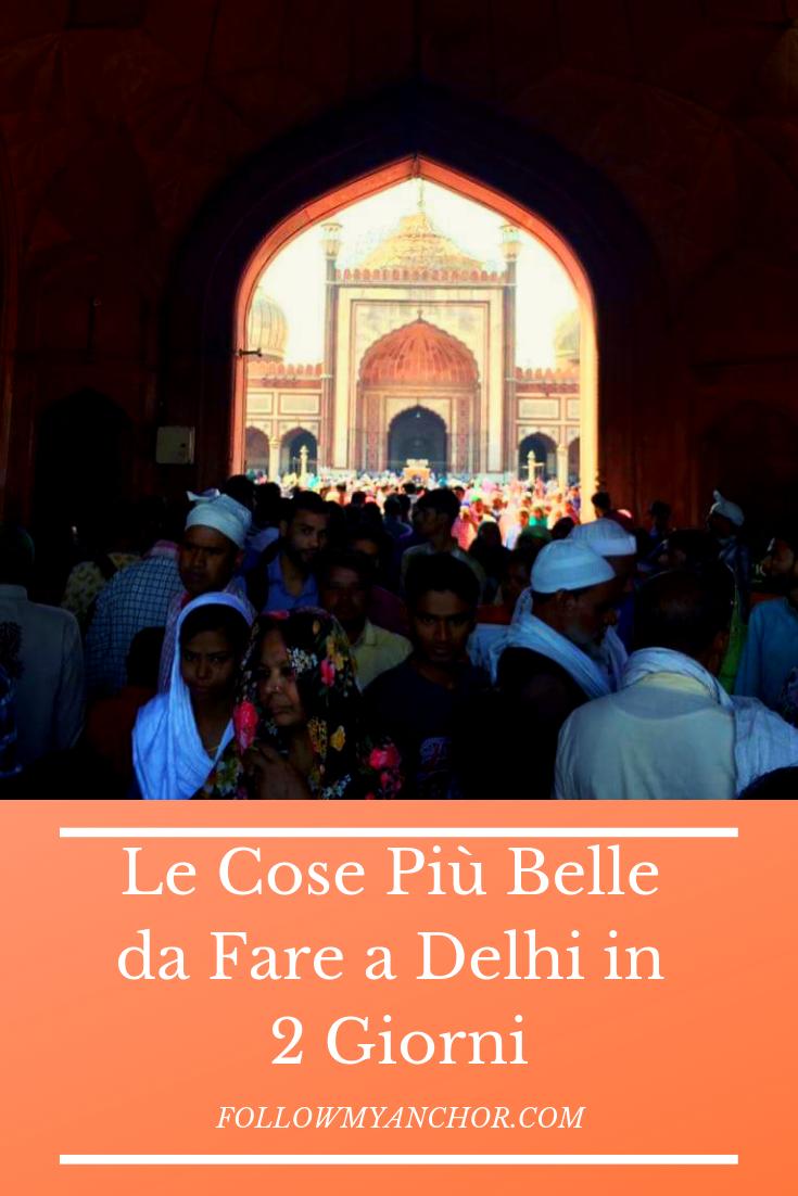 Le Cose Più Belle da Fare a Delhi in 2 Giorni | Un itinerario di 2 Giorni a Delhi tra i luoghi più importanti di Old Delhi e New Delhi, tra cui Jama Masjid, il Forte Rosso, Chandni Chowk, la Tomba di Humayun e molto altro ancora. Leggi questo articolo per scoprire quali sono le cose migliori da fare a Delhi in 2 giorni. #Delhi #OldDelhi #NewDelhi #Delhi2Giorni #TravelBlog