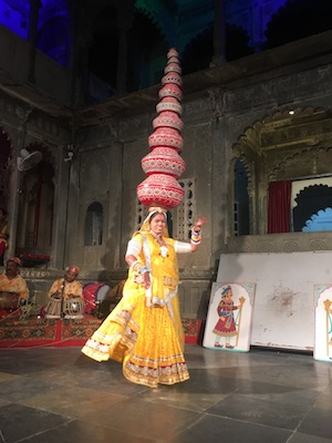 Show di Danza Indiana al Bagore-ki-Haveli