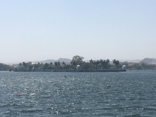 Lago Fateh Sagar di Udaipur