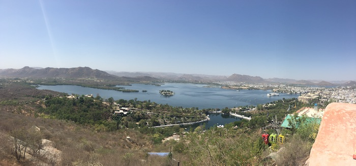 View from Machla Magra in Udaipur