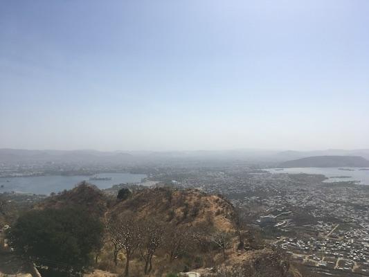 Panorama di Udaipur dal Palazzo dei Monsoni