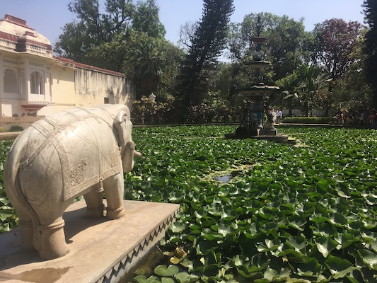 Bridesmaids garden of Saheliyon-ki-Bari in Udaipur