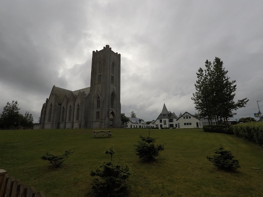 Cathedral of Christ the King in Reykjavik
