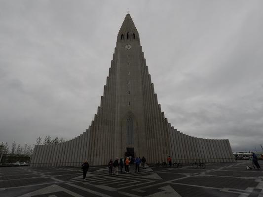 Chiesa Hallgrimskirkja di Reykjavik