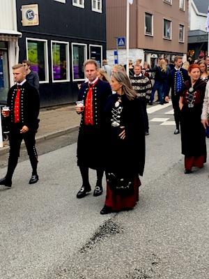 Locals at the Faroe Islands