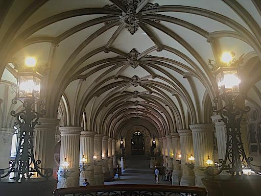 Lobby of Hamburg City Hall