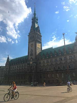 City Hall of Hamburg