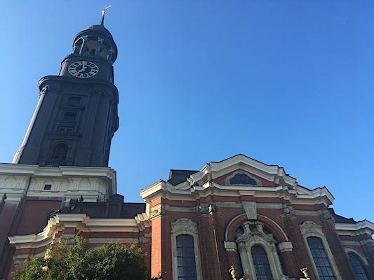 Saint Michaelis' Church in Hamburg