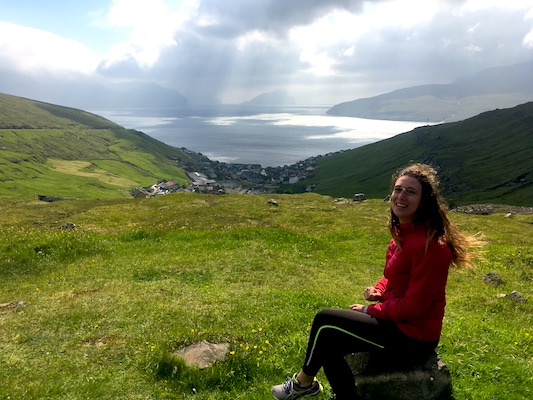 Panorama in un giorno alle Isole Faroe