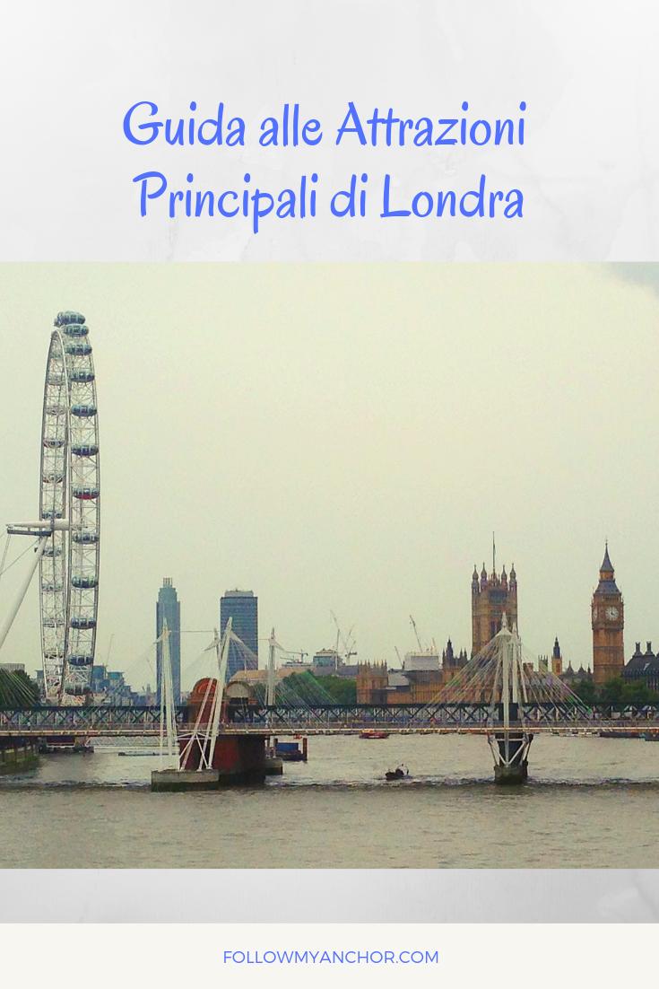 GUIDA ALLE ATTRAZIONI PRINCIPALI DI LONDRA